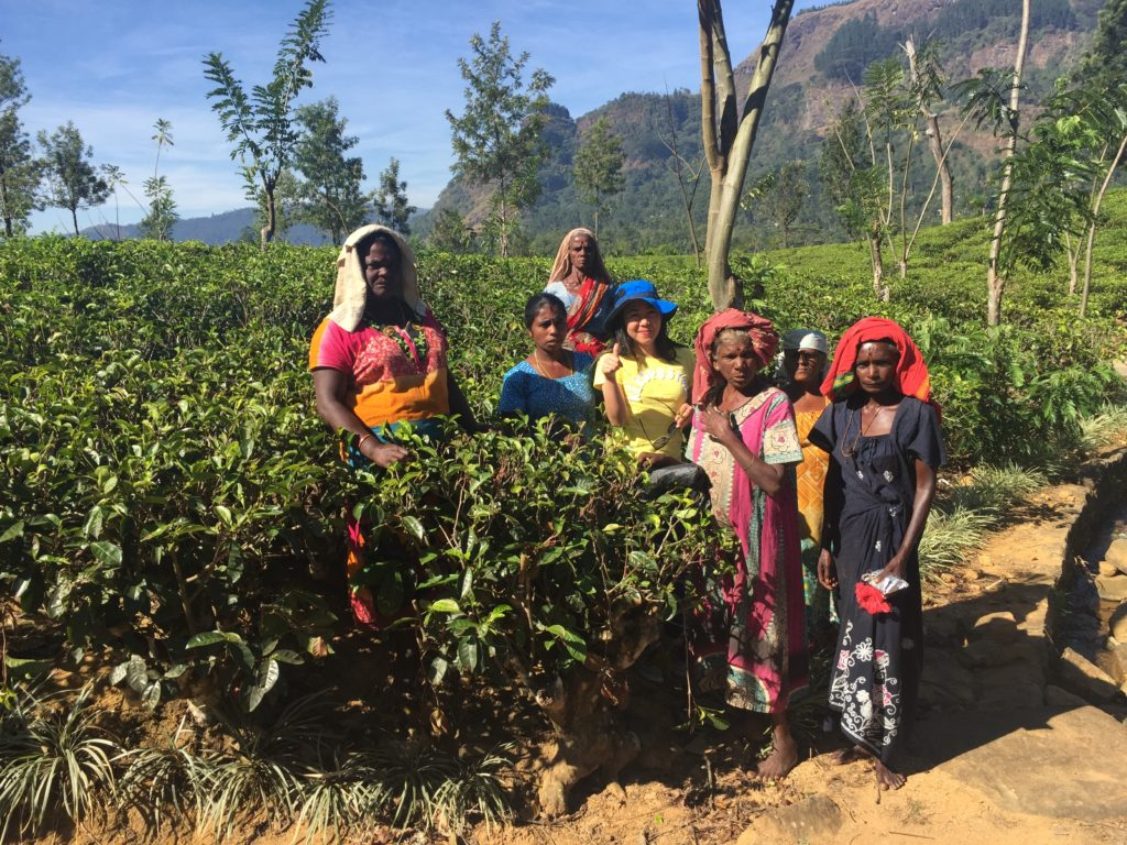 If you're a tea lover, the tea that you are drinking might have been handpicked by one of these ladies