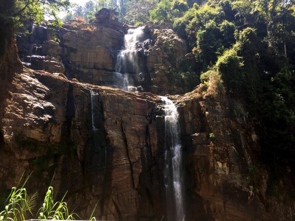 Ramboda Waterfalls. The 11th highest waterfall in Sri Lanka