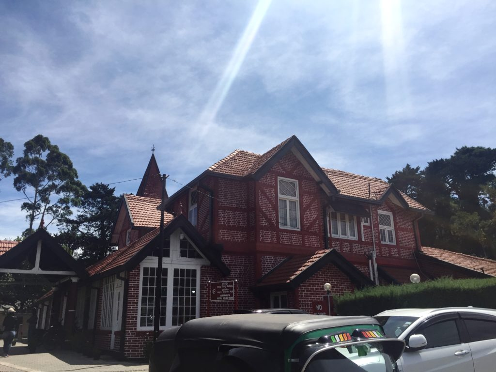 Nuwara Eliya Post Office with its Tudor Revival Architecture