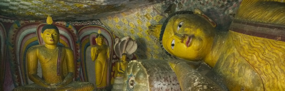 A Day with Dambulla and Sigiriya (A Cave Temple and a Rock Fortress in Ceylon)