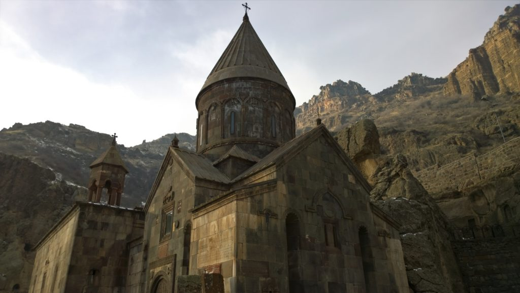 Geghard is also known as Monastery of the Cave built during the 4th century