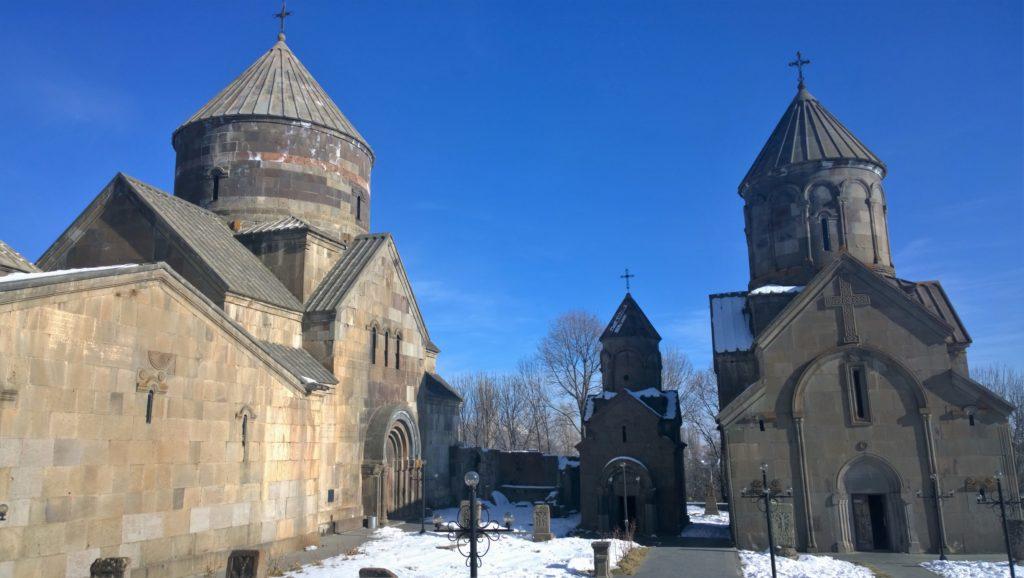 Kecharis complex consists of three Churches