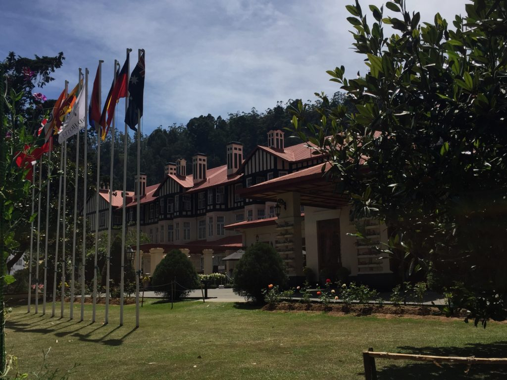 Grand Hotel is a luxury hotel with style of Elizabethan era manor house in Nuwara Eliya