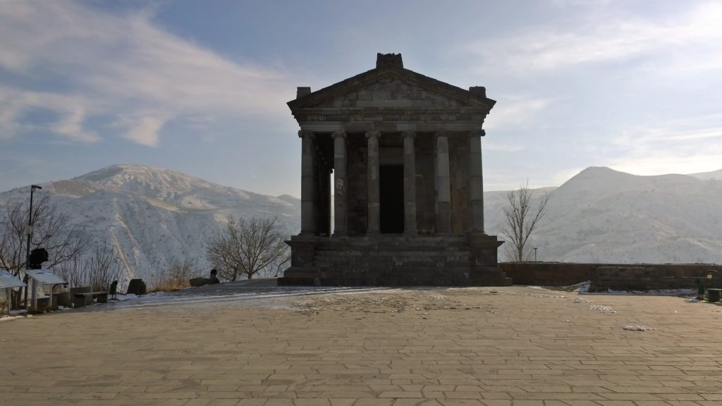 A Pagan temple and a symbol of pre-Christian Armenia
