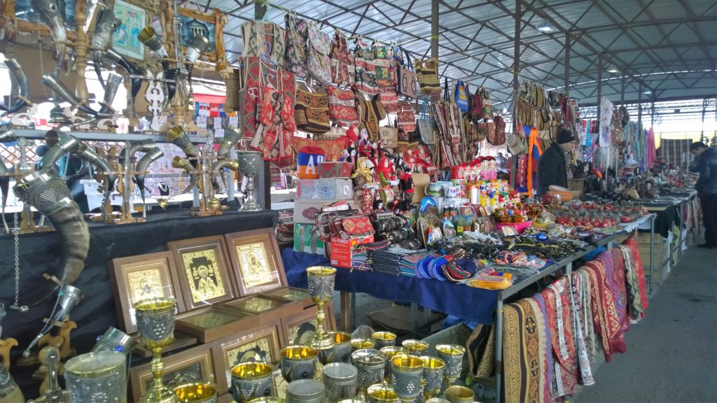 Display of Armenian native products