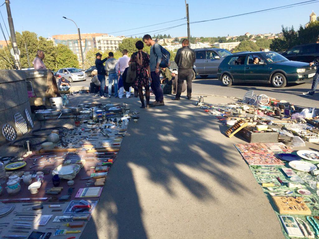 flea market Tbilisi